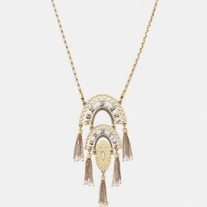 Stella&Dot Mirage Pendant Necklace Gold
